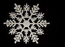 snowflake διακοσμήσεων Χριστο&upsilo Στοκ Εικόνα