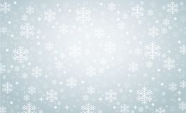 Snowflake διανυσματική απεικόνιση eps10 υποβάθρου χειμερινών εμβλημάτων ελεύθερη απεικόνιση δικαιώματος