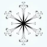 Snowflake εικονίδιο στοκ φωτογραφία με δικαίωμα ελεύθερης χρήσης