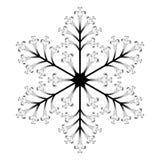 Snowflake εικονίδιο στοκ φωτογραφίες με δικαίωμα ελεύθερης χρήσης