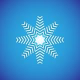 Snowflake εικονίδιο γραφικό Snowflake διανύσματα Στοκ Εικόνες