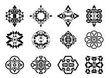 Snowflake εικονιδίων Στοκ εικόνες με δικαίωμα ελεύθερης χρήσης