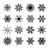 Snowflake διάνυσμα Στοκ φωτογραφία με δικαίωμα ελεύθερης χρήσης