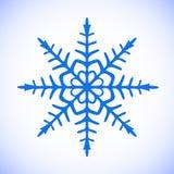 Snowflake διάνυσμα clipart Στοκ Εικόνες