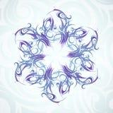 snowflake διακοσμήσεων Στοκ εικόνα με δικαίωμα ελεύθερης χρήσης