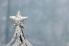 Snowflake διακοσμήσεων Chritmas Στοκ Φωτογραφία