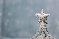 Snowflake διακοσμήσεων Chritmas Στοκ φωτογραφία με δικαίωμα ελεύθερης χρήσης