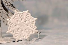 Snowflake διακοσμήσεων Chritmas Στοκ εικόνα με δικαίωμα ελεύθερης χρήσης