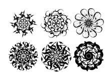 Snowflake και flouwer Στοκ Εικόνες