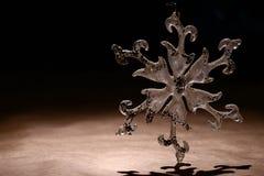 Snowflake καρτών Στοκ εικόνες με δικαίωμα ελεύθερης χρήσης