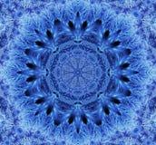 Snowflake καλειδοσκόπιο Στοκ Εικόνες