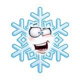 Snowflake κεφάλι - AHA Στοκ φωτογραφίες με δικαίωμα ελεύθερης χρήσης
