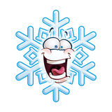 Snowflake κεφάλι - LOL Στοκ Εικόνες