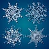 snowflake κομψότητας Στοκ Εικόνα