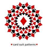 Snowflake κοστουμιών καρτών διαμαντιών απεικόνιση αποθεμάτων