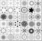 snowflake μερών Στοκ Εικόνα