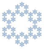 Snowflake Νιφάδα του χιονιού απεικόνιση αποθεμάτων