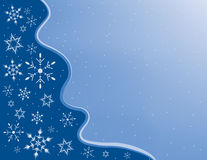 snowflake πλαισίων Στοκ Εικόνες