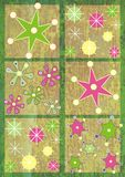 snowflake προτύπων Στοκ εικόνα με δικαίωμα ελεύθερης χρήσης