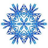 Snowflake στενός επάνω Στοκ φωτογραφία με δικαίωμα ελεύθερης χρήσης