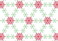 Snowflake στην άσπρη ανασκόπηση Στοκ Εικόνες