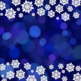 snowflake συνόρων Στοκ Εικόνες