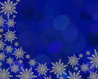 snowflake συνόρων Στοκ φωτογραφία με δικαίωμα ελεύθερης χρήσης