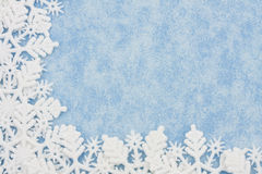 snowflake συνόρων Στοκ Εικόνα