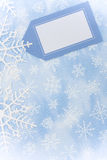 snowflake συνόρων Στοκ φωτογραφίες με δικαίωμα ελεύθερης χρήσης