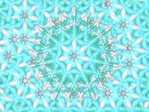 Snowflake υπόβαθρο καραμελών Στοκ εικόνα με δικαίωμα ελεύθερης χρήσης