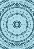 Snowflake υπόβαθρο, καλλωπισμοί ή σύνορα απεικόνιση αποθεμάτων