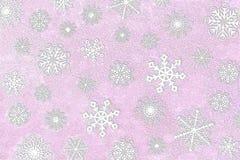 snowflake φωτογραφιών ανασκόπηση&sig Στοκ εικόνα με δικαίωμα ελεύθερης χρήσης