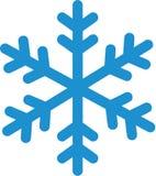 Snowflake χειμερινό εικονίδιο διανυσματική απεικόνιση