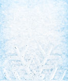 snowflake χιονιού Χριστουγέννων &sigm Στοκ Εικόνα