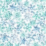 Snowflake, χιόνι, άνευ ραφής σχέδιο, Χριστούγεννα, διακοπές ελεύθερη απεικόνιση δικαιώματος