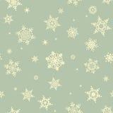Snowflake Χριστουγέννων άνευ ραφής σχέδιο 10 eps ελεύθερη απεικόνιση δικαιώματος