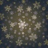 Snowflake Χριστουγέννων άνευ ραφής σχέδιο 10 eps απεικόνιση αποθεμάτων