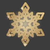 Snowflake Χριστουγέννων σύμβολο απεικόνιση αποθεμάτων