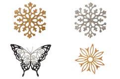 Snowflake Χριστουγέννων. Στοκ Φωτογραφία