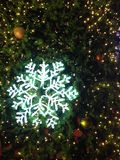 Snowflake Χριστούγεννα Στοκ Εικόνες