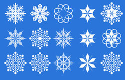 Snowflake. Icon set. Vector illustration vector illustration