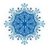 Snowflake. Openwork snowflake isolated on white background Stock Photos
