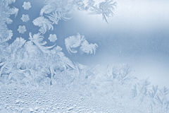 Snowflake. Real beautiful snowflake on the window glass stock photography