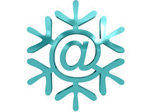 Snowflake with Stock Photo