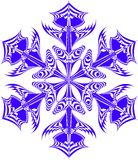 snowflake Royaltyfri Illustrationer