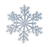 Snowflake. Shape decoration with clipping path included royalty free stock photo