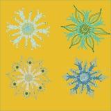 Snowflake2 ilustración del vector