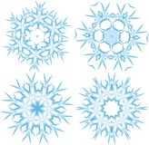 snowflake Στοκ φωτογραφίες με δικαίωμα ελεύθερης χρήσης