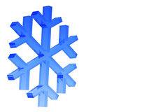 snowflake Στοκ εικόνες με δικαίωμα ελεύθερης χρήσης
