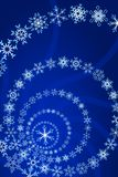 Snowflake. Vector illustration of Christmas Snowflake Decoration Stock Photo